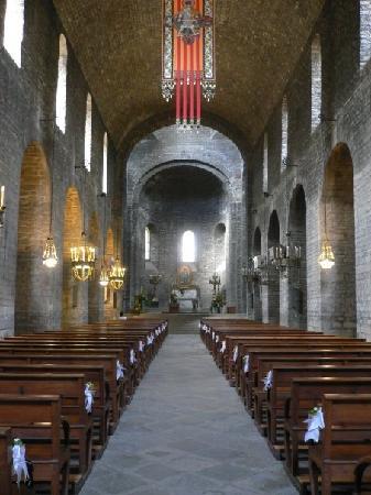Ripoll, Spagna: Interior monestir