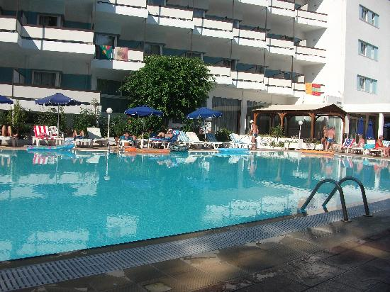 Belair Beach Hotel: The best side of the pool in out opinion