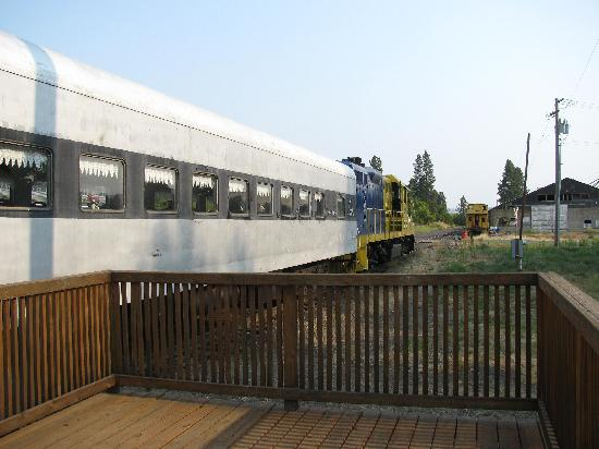 Eagle Cap Excursion Train: At the depot