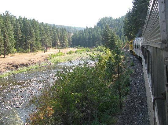 Eagle Cap Excursion Train: Return trip