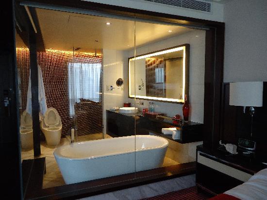 โรงแรมเรอเนสซองซ์ ปักกิ่ง แคพปิตอล: un gran baño!!!
