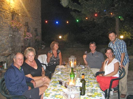 La Tavola Marche Agriturismo & Cooking School: Our new friends