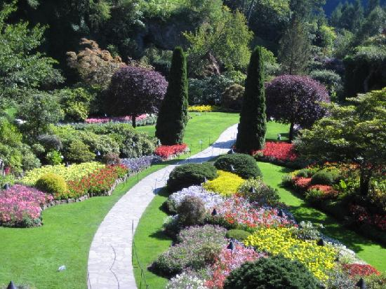 The Butchart Gardens: This does only partial justice to what you'll see
