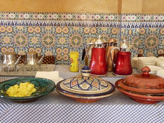 Zaghro Hotel: petit déjeuner