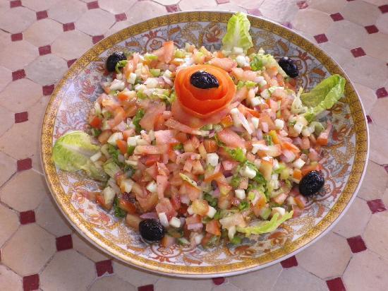 Zaghro Hotel: salade marocaine