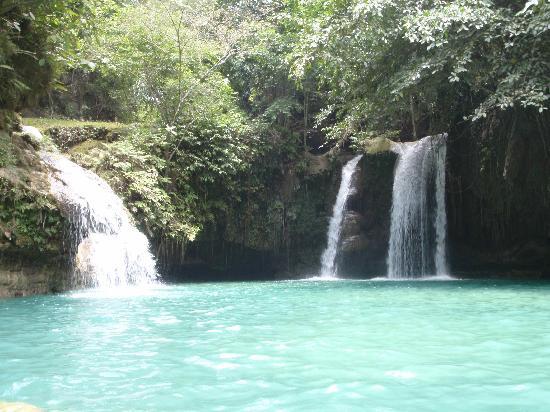 Kawasan Falls: Second section