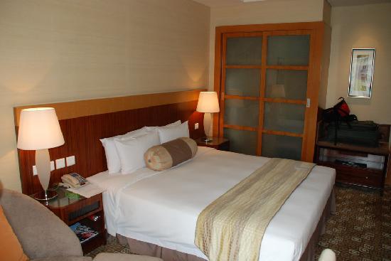 โรงแรมพาร์ค พลาซ่า ปักกิ่ง แวงฟูจิง: View of Bedroom