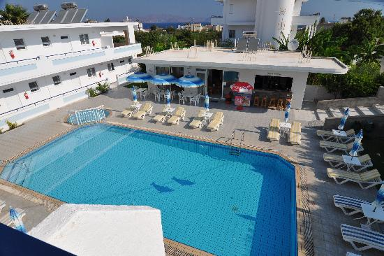 Michalis Studios & Apartments: the pool