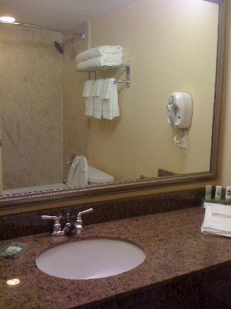 Country Inn & Suites By Carlson, Atlanta Northwest at SunTrust Park : Bathroom