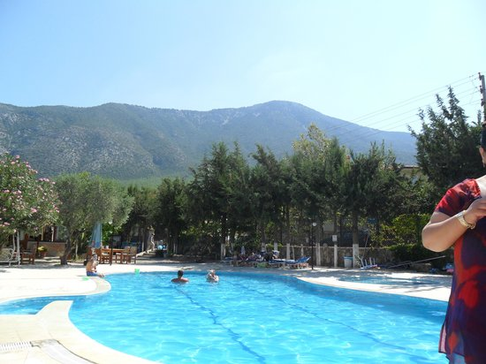 Gokcen Hotel & Apartments: Beautiful pool and view