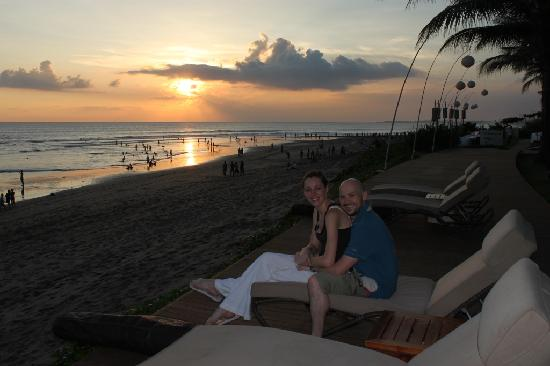 The Samaya Bali Seminyak: Watching the sun go down at Breeze