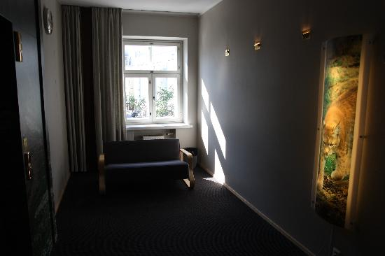 Hotel Helka: in the hallway