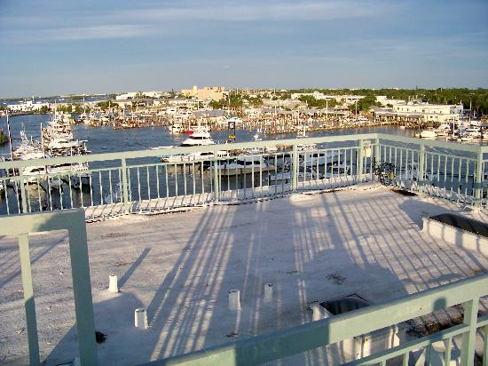 The Galleon Resort And Marina : Marina from private roof terrace