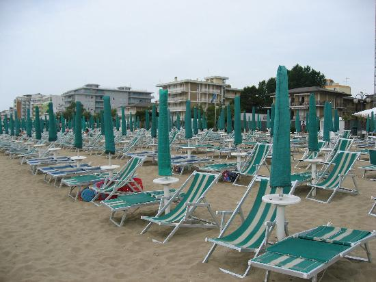 Hotel Verdi: The beach