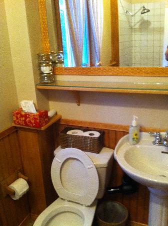 Haut Bois Dormant: La salle de bain