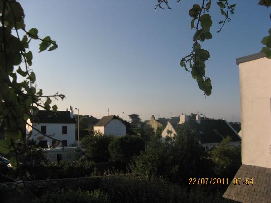 hotel Men er Vro : vue de la fenêtre