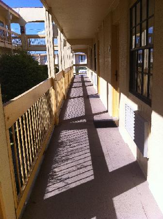 Exterior Corridor Picture Of La Quinta Inn Killeen