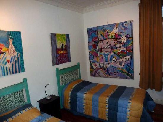 Hostal Cerro Alegre: Zimmer