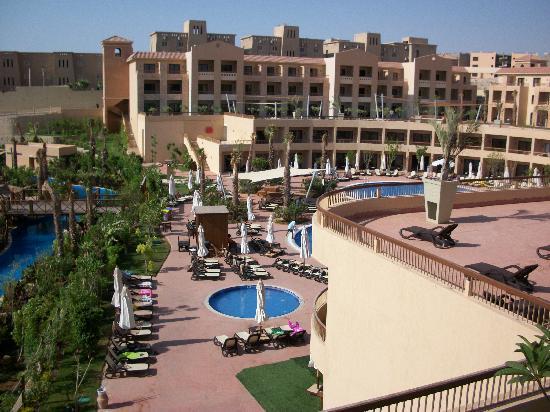 Coral Sea Aqua Club Resort: view from room