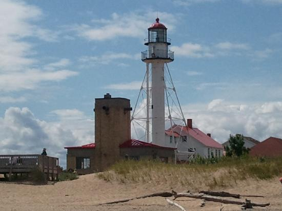 Great Lakes Shipwreck Museum: 150-year old light