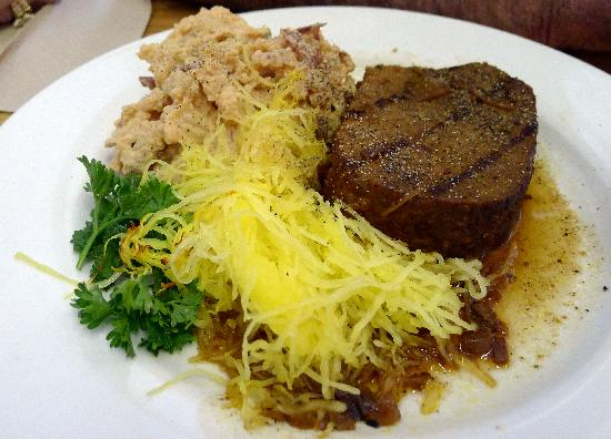 Tioga Gas Mart & Whoa Nellie Deli: Wild Buffalo meatloaf