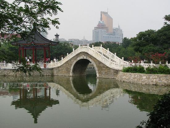 Tianjin People's Park: reflections