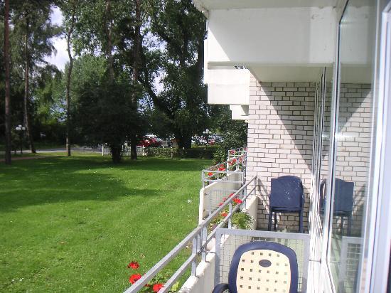 Strandhotel Weissenhaeuser Strand: Blick vom Balkon