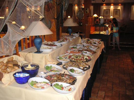 Strandhotel Weissenhäuser Strand: Das kalte Buffet