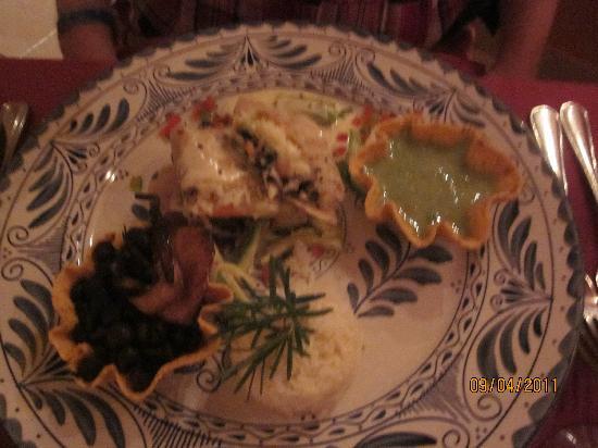 Royal Solaris Los Cabos: Vegetarian Menu @ Panchos