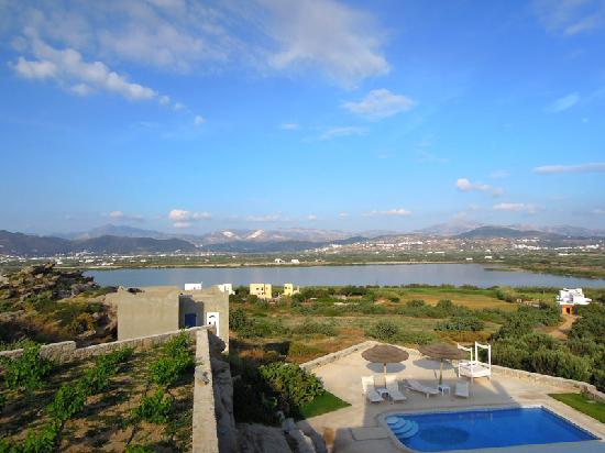 Naxian Collection: Amazing view from our balcony