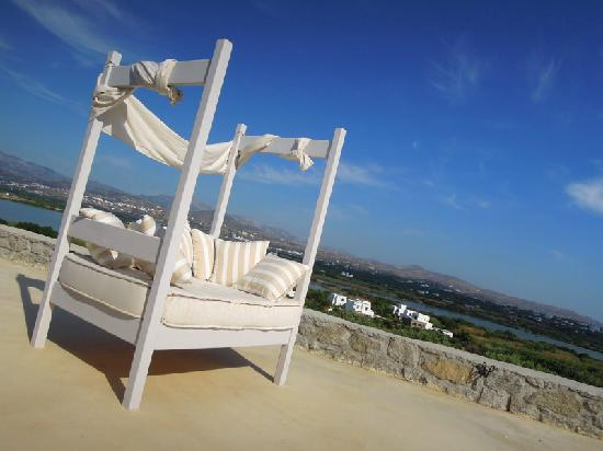 Naxian Collection: Daybed by the pool was awesome