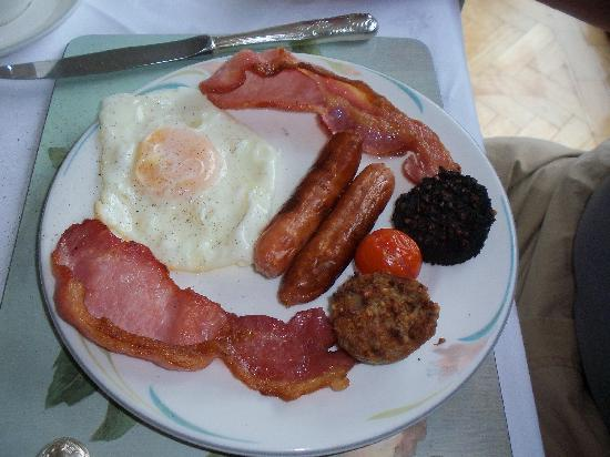 Carrigane House Bed and Breakfast : Irish Breakfast