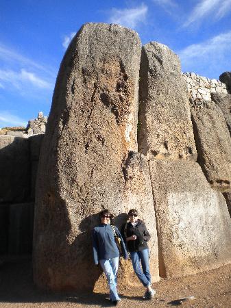 มาจูปิจู: Ruins at Saqsaywaman, Peru