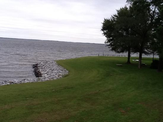 Wades Point Inn on the Bay: view from the Inn
