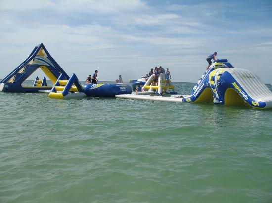 Guy Harvey Outpost A Tradewinds Beach Resort Inflatable Water Park