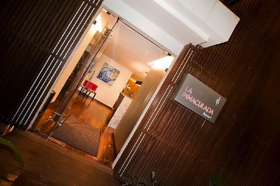 La Inmaculada Hotel: Entrance