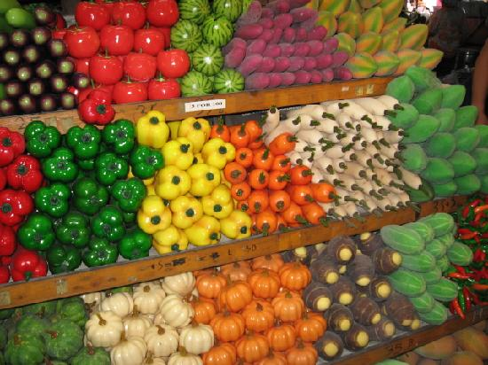 Fake Fruits As Interior Decor Picture Of Chatuchak