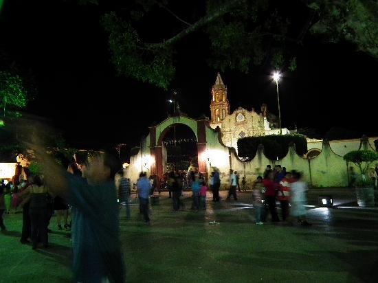 Jalpan de Serra, Messico: Misión Jalpan, frente al hotel