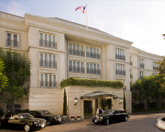 ‪‪The Peninsula Beverly Hills‬: Hotel Exterior‬