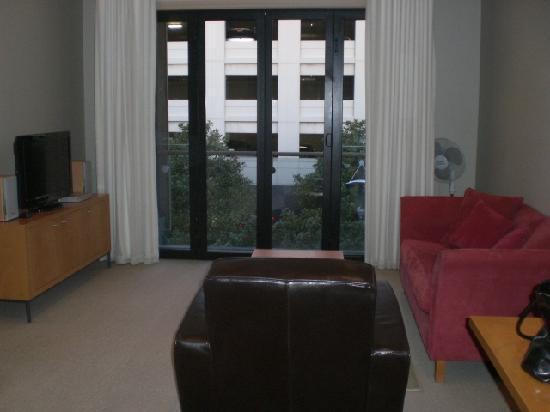 Latitude 37 Accommodation Ltd: Living Area