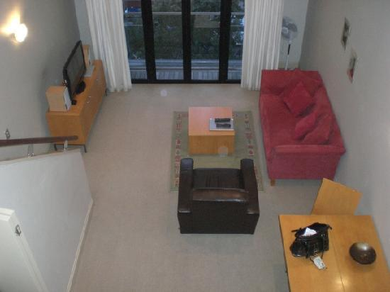 Latitude 37 Accommodation Ltd: Loft View looking into living space