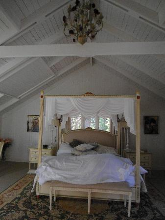 Villa Athena Wentworth Falls: Sorry, took this after we slept in it!