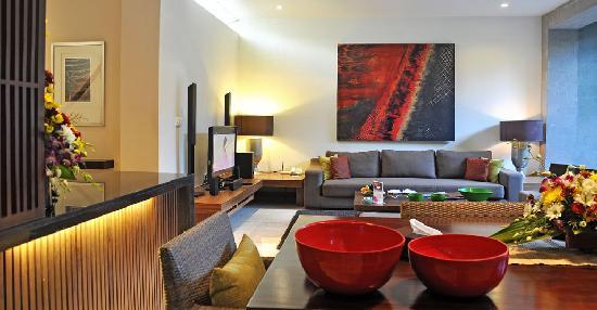 Kanishka Villas: living room