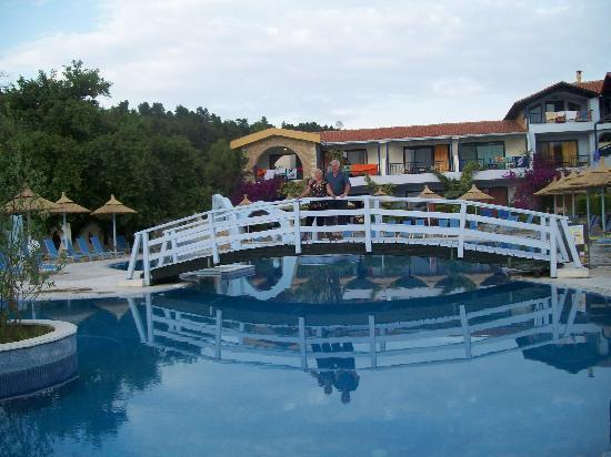 Acrotel Athena Pallas Village : Pools of resort