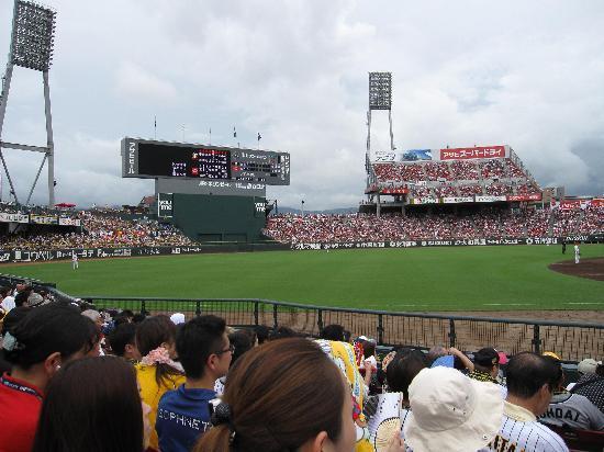 MAZDA Zoom-Zoom Stadium Hiroshima: カープパフォーマンス席・・・盛り上がってました