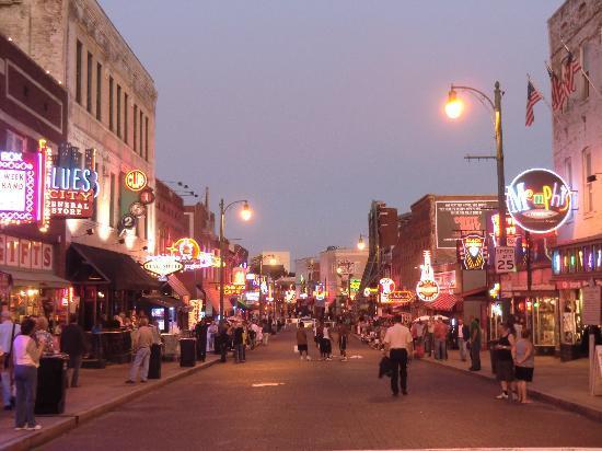 Beale Street: de nuit