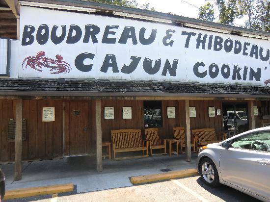 Boudreau & Thibodeau's Cajun Cooking: extérieur