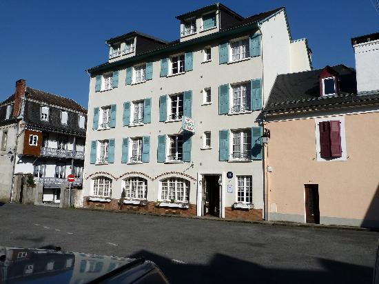 Hotel Restaurant Les Cimes : Vue façade AV