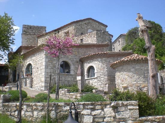 Molinara, Italy: Vista dela ristorante dal giardino