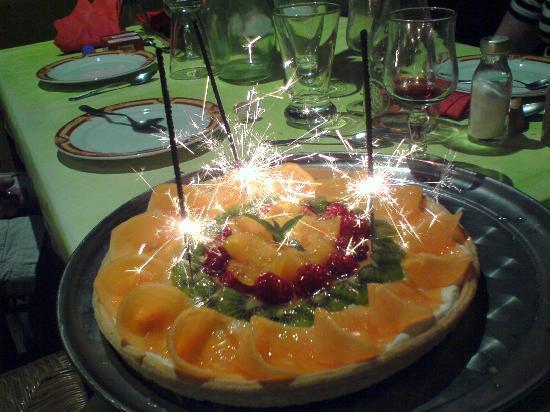 Hotel-Restaurant Le Puy Blanc: Dessert